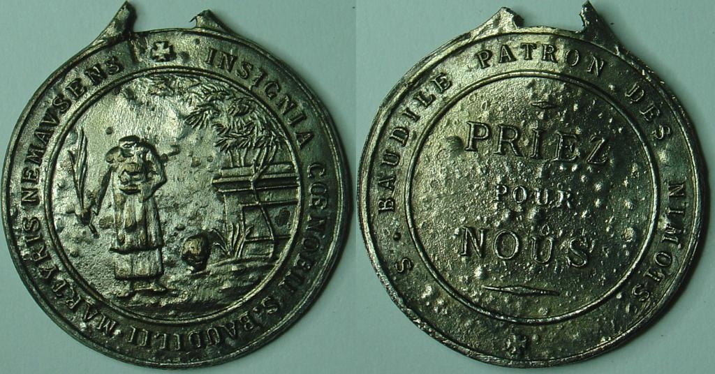Médaille St Baudile patron des Nîmois 23-octobre-2012-cairades-3906cea